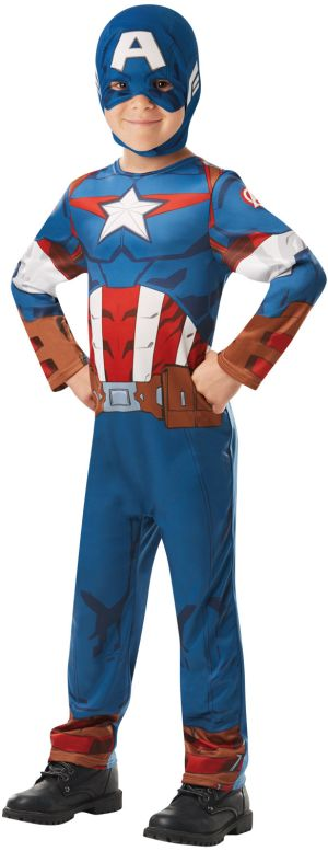 Captain America Classic Στολή-Large (640832/L)