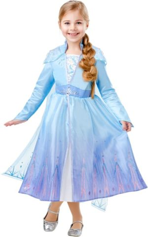 Elsa Travel Dress Frozen II Deluxe Στολή-Large (300491/L)