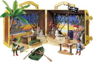 Playmobil Βαλιτσάκι Πειρατικό Νησί (70150)