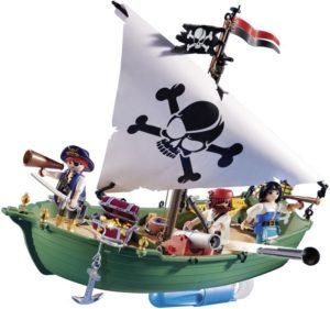 Playmobil Πειρατικό Πλοιάριο Με Υποβρύχιο Μοτέρ (70151)