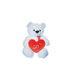 Λούτρινο Αρκουδάκι Με Καρδιά 50cm (78147-V-NN)