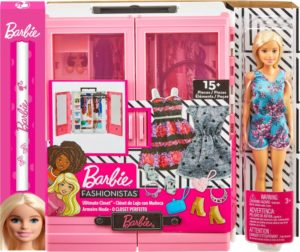 Λαμπάδα Barbie Η Ντουλάπα Της Barbie Με Κούκλα (GBK12)