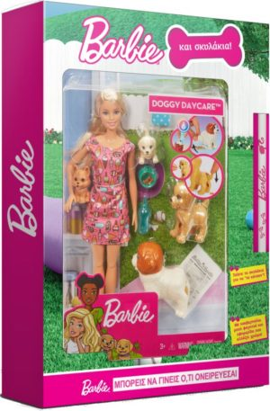 Λαμπάδα Barbie & Τα Σκυλάκια (FXH08)