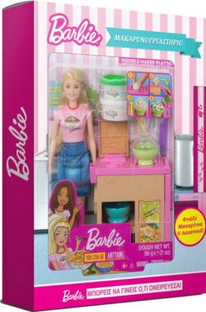 Λαμπάδα Barbie Μακαρονο-Εργαστήριο (GHK43)