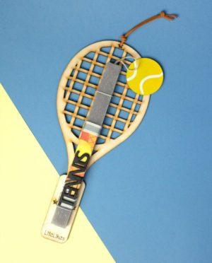 Λαμπάδα Tennis Κίτρινο (608.1853)