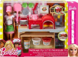 Λαμπάδα Barbie Σεφ-Εργαστήριο Πίτσας (FHR09)