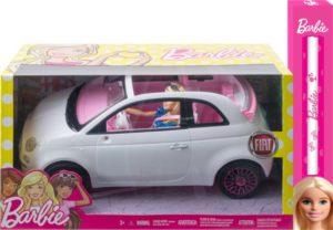 Λαμπάδα Barbie Fiat 500cc & Κούκλα (FVR07)