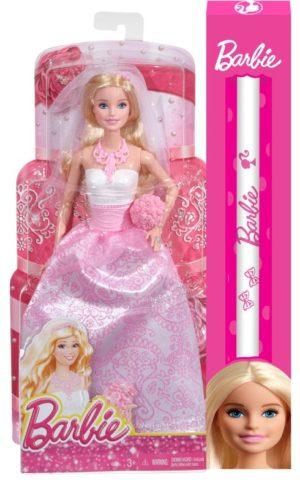 Λαμπάδα Barbie Πριγκίπισσα Νύφη (CFF37)