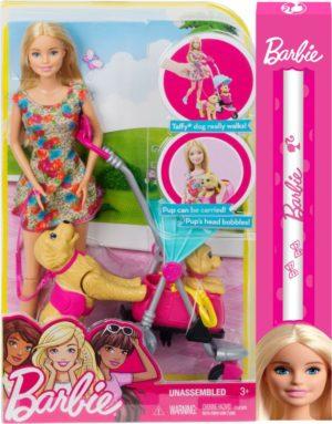 Λαμπάδα Barbie Pups - Βόλτα Με Τα Κουτάβια (CNB21)
