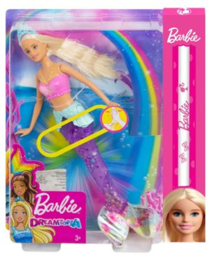 Λαμπάδα Barbie Γοργόνα Μαγική Ουρά (GFL82)