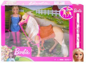 Λαμπάδα Barbie & Άλογο (FXH13)