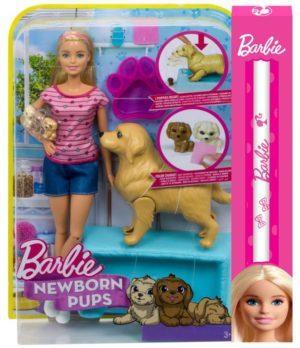 Λαμπάδα Barbie & Τα Νεογέννητα Κουταβάκια (FDD43)