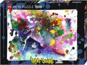HEYE Παζλ 1000 Νιαούρισμα - Free Colours (29825)