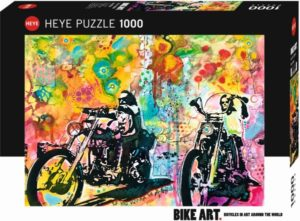 HEYE Παζλ 1000 Easy Rider - Bike Art (29814)