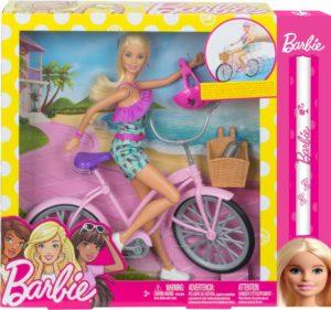 Λαμπάδα Barbie Σετ Ποδήλατο & Κούκλα (FTV96)