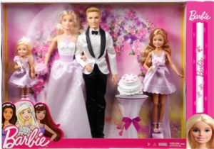 Λαμπάδα Barbie Giftset - Γάμος (DJR88)