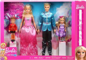 Λαμπάδα Barbie Dreamtopia Σετ Βασιλική Οικογένεια (FPL90)