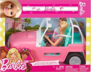 Λαμπάδα Barbie Τζιπ & 2 Dolls (FPR59)