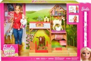 Λαμπάδα Barbie Σετ Farm Vet (GCK86)