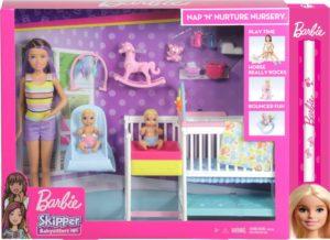 Λαμπάδα Barbie Σετ Babysitter (GFL38)