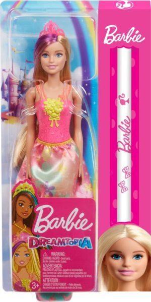 Λαμπάδα Barbie Πριγκίπισσα-3 Σχέδια (GJK12)