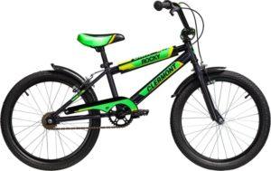 Clermont Ποδήλατο 18'' Rocky-Μαύρο (108-ΜΑΥΡΟ)