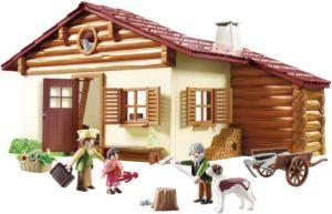 Playmobil Η Χάιντι Με Τον Παππού Της Στην Καλύβα Τους (70253)