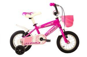 Ποδήλατο Alpina Ροζ 12'' (12A2P1/2)
