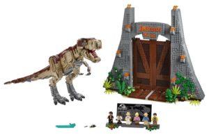 LEGO Jurassic World Jurassic Park - T. Rex Rampage (75936)