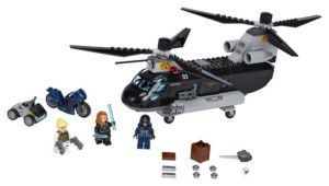 LEGO Super Heroes Black Widow's Helicopter Chase (76162)