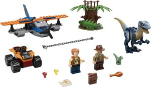 LEGO Jurassic World Velociraptor: Biplane Rescue Mission (75942)