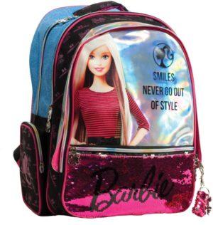 Barbie Denim Fashion Σακίδιο Οβάλ (349-66031)