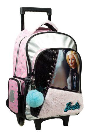 Barbie Fur Fashion Σακίδιο Trolley (349-65074)