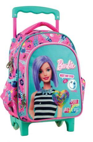 Barbie Beauty Σακίδιο Νηπιαγωγείου Trolley (349-67072)